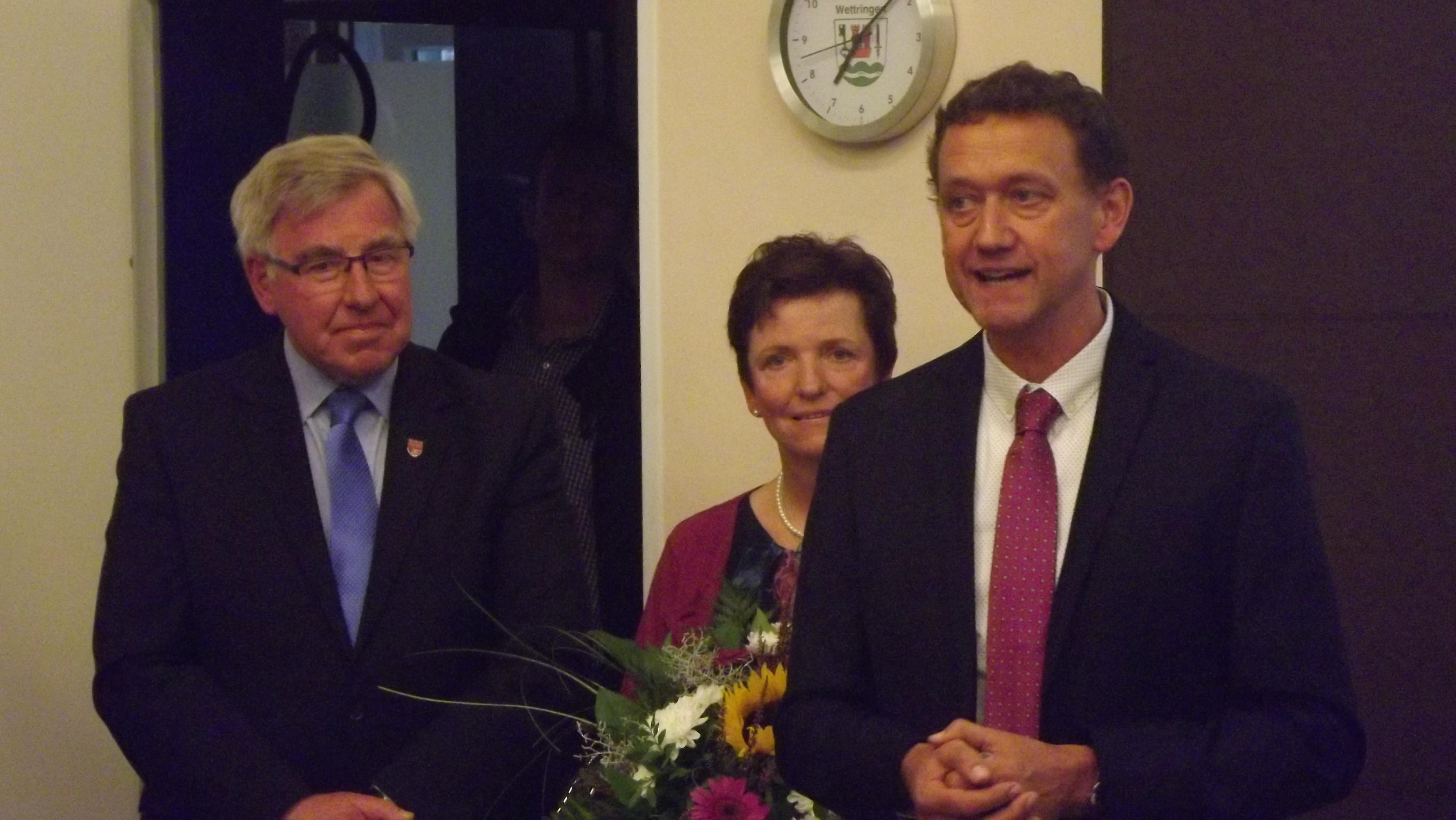 Bertold Bültgerds ist neuer Bürgermeister in Wettringen
