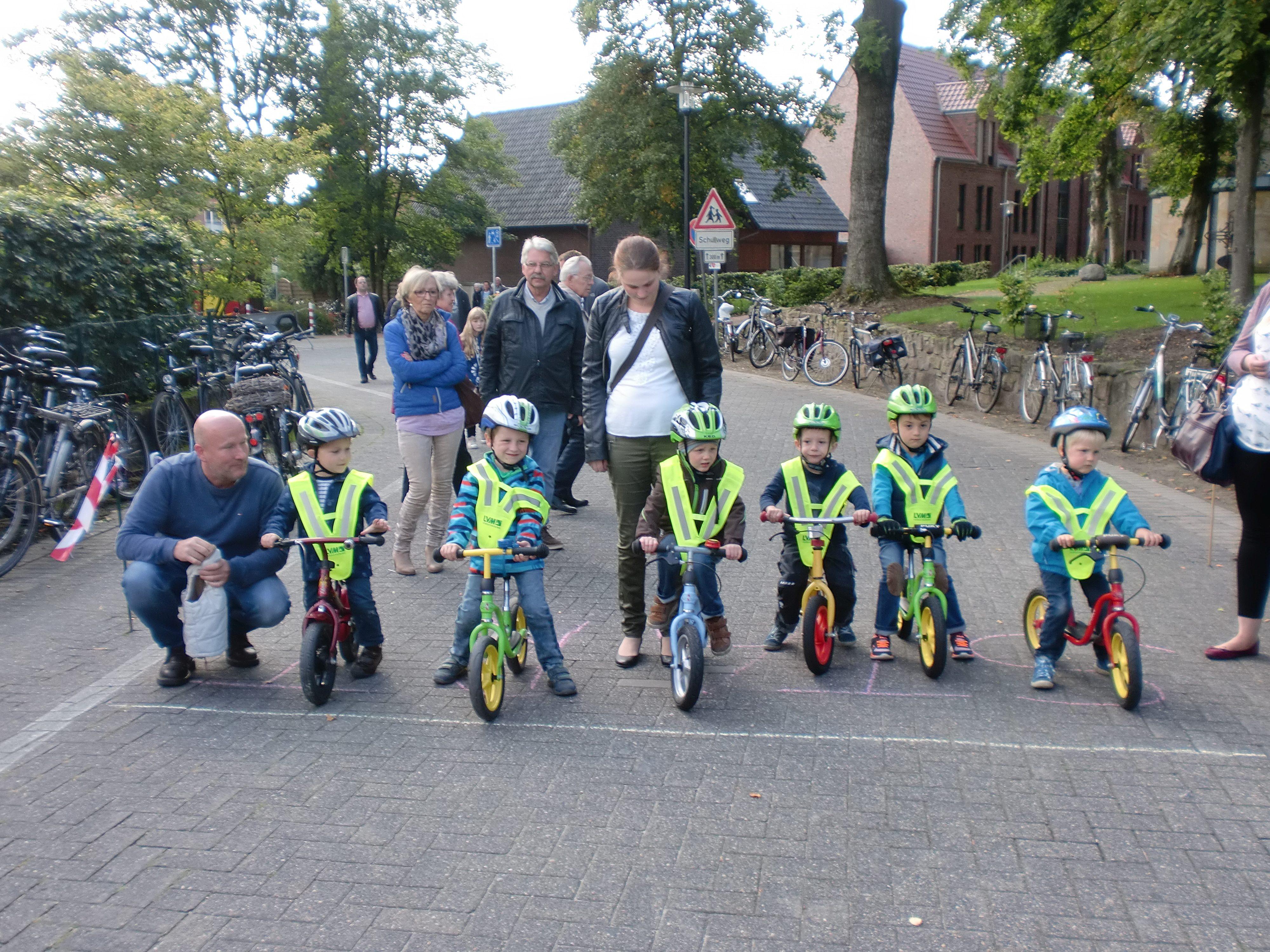 1.Wettringer Laufradrennen beim Volksfest