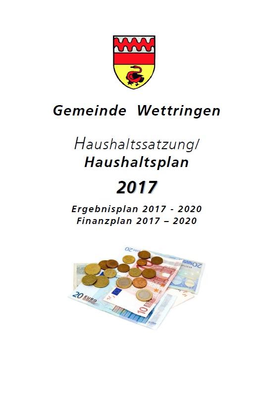 Stellungnahme zum Haushalt 2017