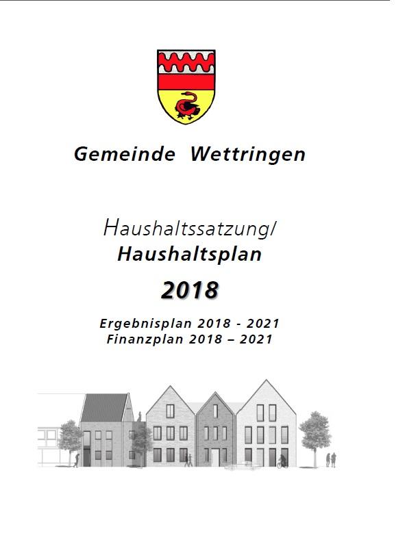 Stellungnahme zum Haushalt 2018
