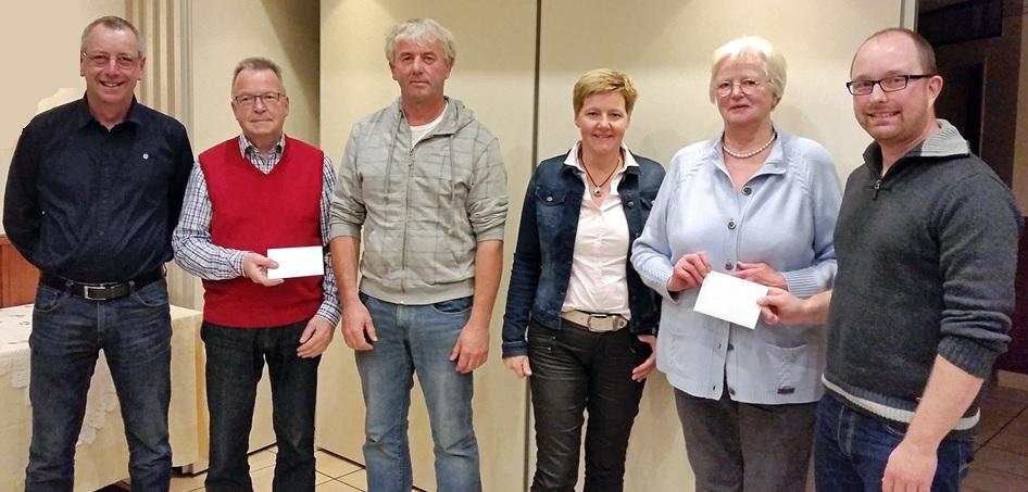 UWG spendet Sitzungsgelder für Flüchtlinge und die Kirche