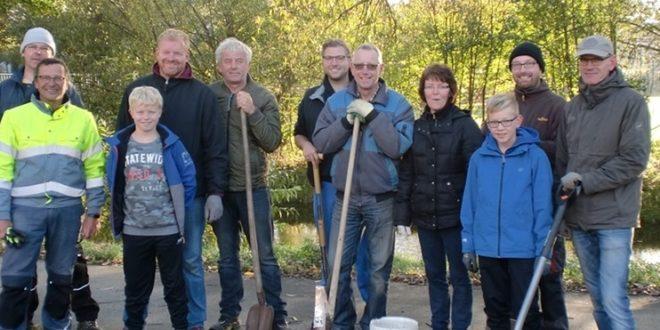 Krokus-Pflanzaktion der UWG am Marienheim
