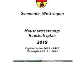 Stellungnahme zum Haushalt 2019