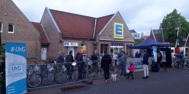 Bilder zum Fahrradflohmarkt 2019