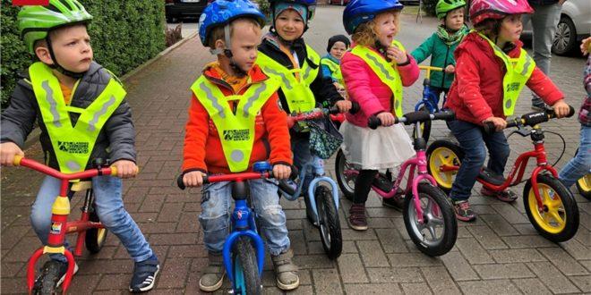 MV-Bericht zum Laufradrennen: 56 Laufräder und ein Bobbycar