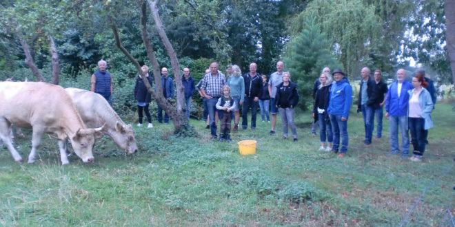UWG Besuch auf dem Bio-Hof Ludwig und Mathilde Banning in Maxhafen